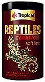 TROPICAL Nourriture à Multi Ingrédients avec vers de Farine Séchés/Grillons Séchés pour Reptiles Omnivores/Carnivores