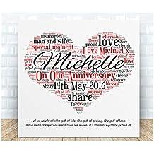 9th Wedding Anniversary Gift Ideas Uk : Amazon.co.uk: 9th wedding anniversary gifts