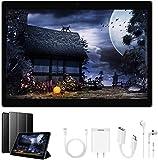 Tablette Tactile 10 Pouces 4G Dual Sim 2 Go de Ram + 32GB ROM 8500mAh Batterie 8MP Caméra Android 7.1 OTG/WiFi Tablette Pas Chère (Noir)