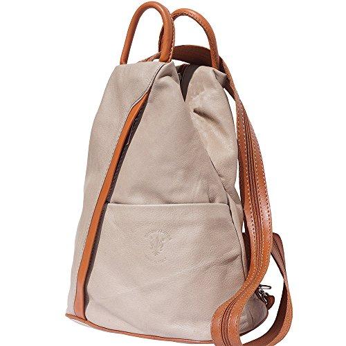 Rucksack Handtasche und Schultertasche 2061 Licht taupe-bräune