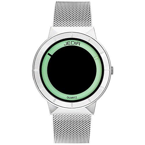JEDIR Orologi unisex Classico orologio da polso al quarzo Quadrante...