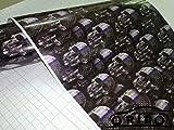 ORINO GRAFFITI CAR STICKER BOMB WRAP SHEET DECAL VINYL DIY SKULL CAR BOMB VINYL FILM WITH BUBBLE FREE : No 10, 50CM X 300CM