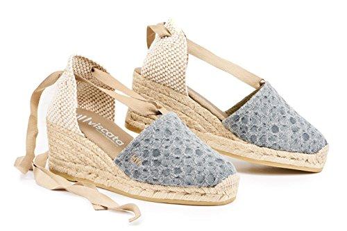 VISCATA Ebene 2.5 Heel, Soft Ankle-Tie, Closed Toe, -