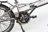 ENIK E-Bike Klapprad »SNAP-IN 20«, 20 Zoll, 3 Gang, Frontmotor, 317 Wh - 3