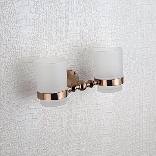 Preisvergleich Produktbild weihnachten Im europäischen Stil alle Kupfer Rose Gold runde Basis bad Armaturen,  Badetuch Rack,  rack Soap Box,  Double cup