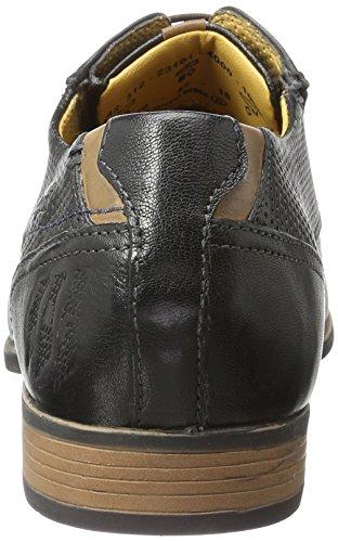Bugatti 312231014000, Derby Homme Noir (Schwarz 1000)