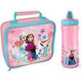 """Spearmark Frozen """"Follow Your Heart"""" Rectangle Lunch Bag and Bottle"""