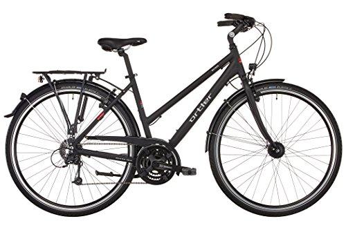Ortler Mainau Damen schwarz matt 2017 Trekkingrad
