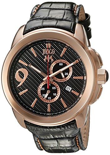Jivago Men's 'Gliese' Swiss Quartz Stainless Steel Casual Watch (Model: JV1510)