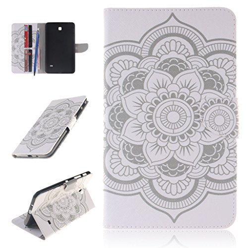 CareyNoce Galaxy Tab 4 7.0 Hülle,PU Leder Flip Schutzhülle Hülle für Samsung SM-T230/T231