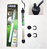 Hidom HT-2150 Submersible Blastproof Aquarium Heater 150w with FREE THERMOMETER - Max Tank Size 150 Litres