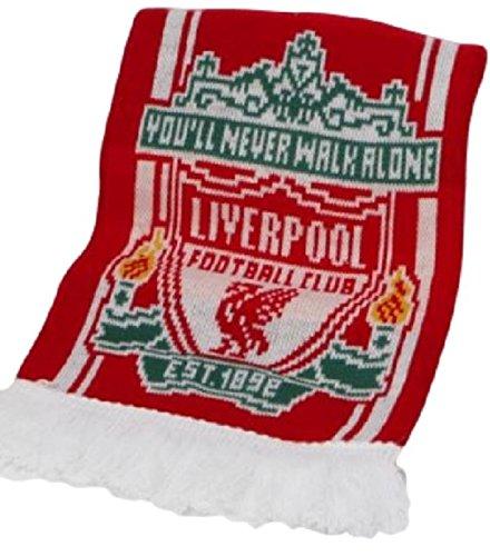 Fútbol Memorabile oficial Liverpool Football Club bufanda Jacquard bufandas
