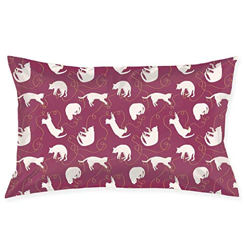 """20""""X30"""" Pillow Covers Cute Ostrich Bird Graphics Double-Side Print Pillow Cases Cotton Sofa Cushion Cover for Home Decor Cute Pillow Cases"""