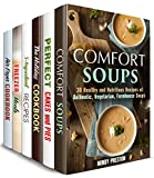 Secrets of Comfort Meals Box Set (6 in 1) : Soups, Cakes, Slow Cooker, Air Fryer and Other Homestyle Recipes