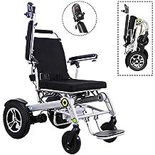 Discapacitado Inteligente Aplicación Completamente Automatico Scooter Mayor Eléctrico Silla De Ruedas Aleación De Aluminio Ligero Plegable
