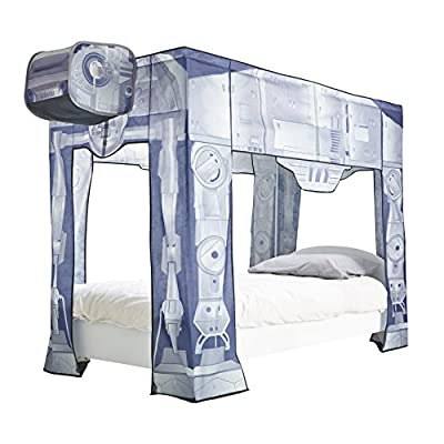 Star Wars Readyroom At-At Bed Canopy - cheap UK light shop.