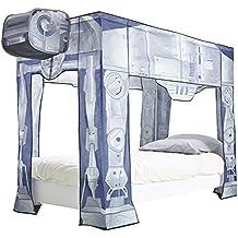 ReadyRoom 297SWA - Dosel para cama con diseño de Star Wars, color gris