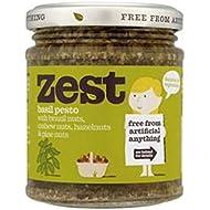 Zest Basil Pesto For Vegetarians 165g