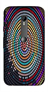 Timpax Protective Armour Case Cover. Multicolour Printed Design : Target of life.Exactly Design For : Motorola Moto-G-3 ( 3rd Gen )