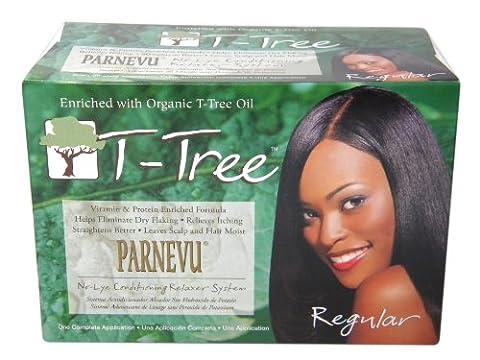 Parnevu T-Tree No-Lye Conditioning Relaxer System Regular