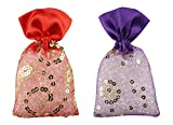 Miracle Perfume Potli. Rose Kesar Chandan & Lavender Fragrance. Air Freshener (50g, Set of 2pcs)