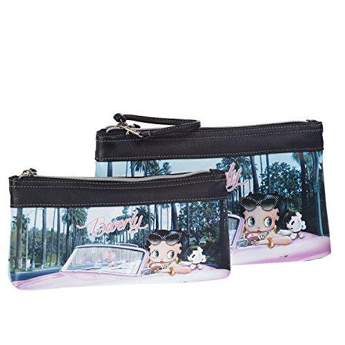 Betty Boop-58974-Double Pochette maquillaje