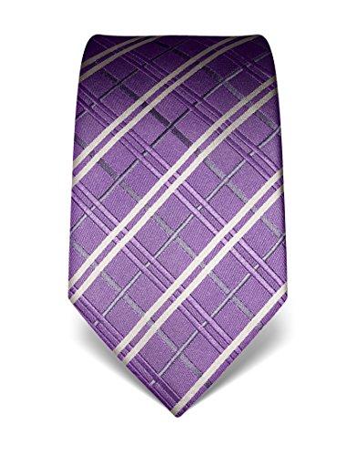vb-mens-silk-tie-checked-many-colours-availablepurple