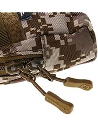 Tradico® Outdoor Tactical Holster Military Molle Waist Belt Bag Wallet Pouch Desert