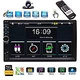 EINCAR 7-Zoll-Touch Screen Doppel-DIN-Autoradio-Spieler MP5 im Schlag GPS-Navigations-FM Radio MP3 Audio 1080P Video-Players Unterstützung Bluetooth/USB/TF/AV-IN/RCA-Ausgang/EQ/Rückfahrkamera /