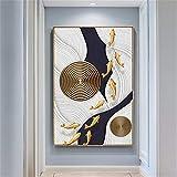 NIUROOM Art Peinture Salon Peinture Décorative Corridor Salon Vertical 50 X 70Cm...