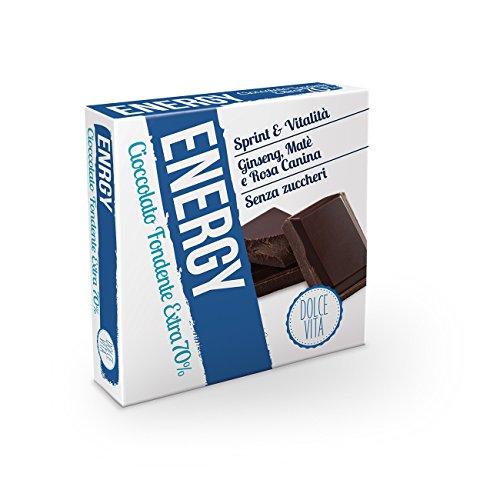 Dolce Vita Cioccolato Fondente Extra 70% Energy - 30 gr