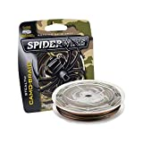 SpiderWire Stealth Superline Angelschnur, geflochten, Braided Fishing Line, Camouflage, 20/8 Pound...