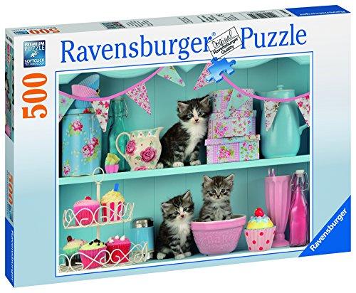 Preisvergleich Produktbild Ravensburger 14684 - Katzen im Cupcakeregal