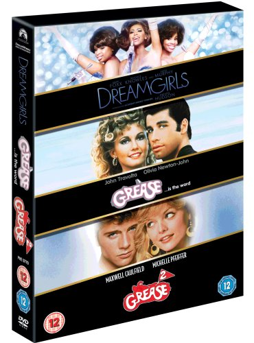 Dreamgirls / Grease / Grease 2 [DVD]