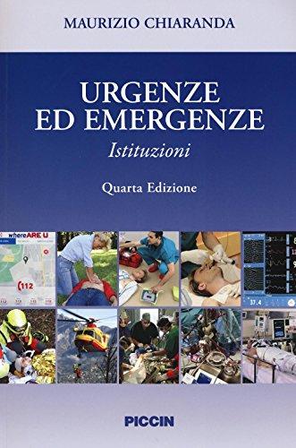 Urgenze ed emergenze. Istituzioni