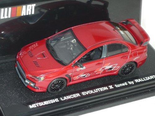 Vitesse Mitsubishi Lancer Limousine Rot Evo Evolution X 10 Tuned by Ralliart Ab 2007 8. Generation Cyo 1/43 Modell Auto Modellauto (Lancer Evolution 10)