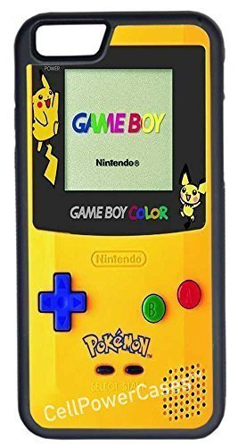 iPhone 6 Fall, Pokemon Gameboy Fashion Design Custom Fall für iPhone 6 11,9 cm (Laser-Technologie) (Nhl Game Boy)
