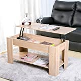 Leisure Zone ® Lift up Top Coffee Table - Best Reviews Guide