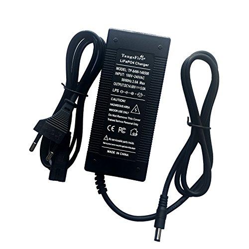 TangsFire 14,4V 14,6V 5A Ladegerät DC5.5* 2,1mm für 4series 3,2V LiFePo4Akku 12,8V 12V KFZ Akku Ladegerät Intelligente Electric Tool