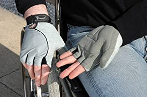 Wheelchair Gloves - Palm Gel (Choose Your Size)