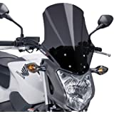 Windshield Touring Puig Honda NC 750 S 12-16 dark smoke