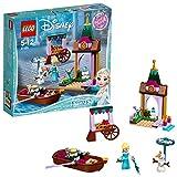 LEGO Disney Princess 41155 - nFrozen Elsas Abenteuer auf dem Markt, Spielzeug für Mädchen und Jungen