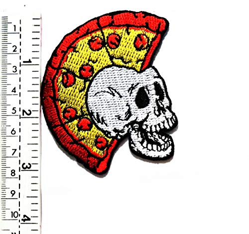 Aufnäher/Aufbügler/Aufbügler/Aufbügler/Aufnäher, Motiv: - Punk Skull Kostüm