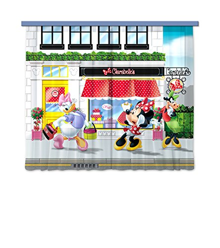 Ag design tenda fcc xl 6310cameretta disney minnie mouse