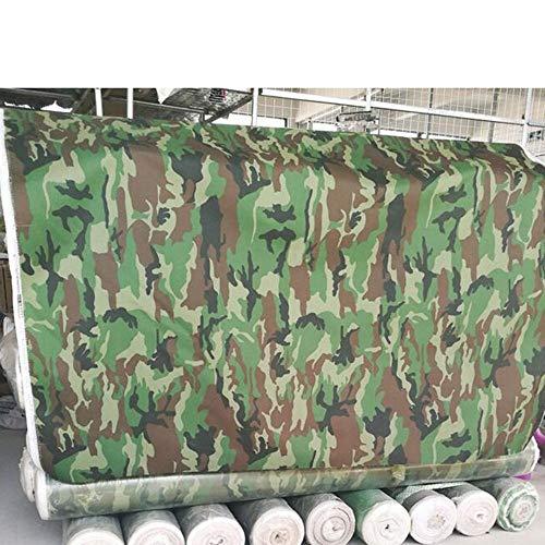 BJYG Tarps Heavy Duty wasserdichte Camo Reversible Camouflage / - mit UV-Schutz für Outdoor-Camping Wohnmobil LKW und Anhänger (Größe: 6mx8m) -