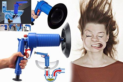 Los mundos nº 1para inodoro émbolo, Bomba de aire blaster, tubo de aire de alta presión bomba de drenaje Blaster desatascador fregadero Clog Remover por Smartpro