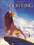 DER KÖNIG DER LÖWEN (the lion king) Songbook easy piano mit Bleistift -- 5 beliebte Songs von Elton John aus dem Walt-Disney Filmklassiker leicht arrangiert für Klavier mit Text (Noten / sheet music)