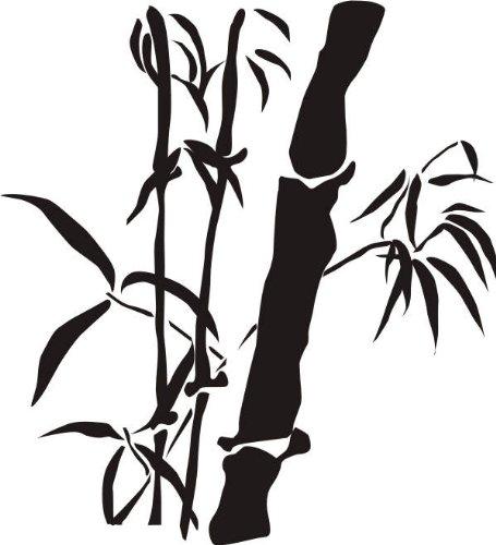 WANDTATTOO / Wandsticker w333 Bambus Gras Wandauskleber