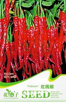 AGROBITS 30 Voir / Paquet longue Rouge Peppes Pepper emballage d'origine organique C011