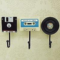 Vintage resin hook tape coat hook wall hanging hooks